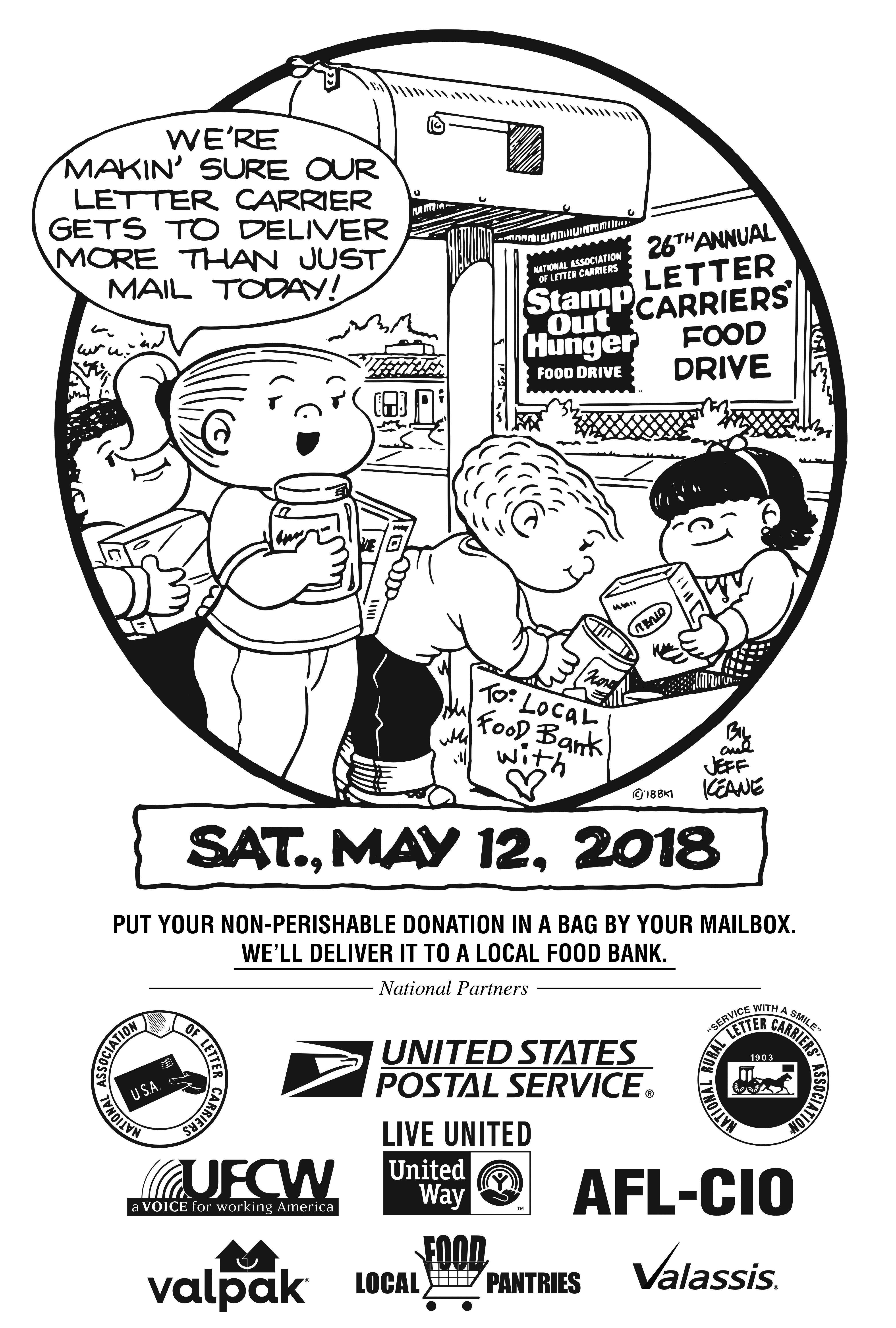 Stamp Out  Hunger Flyer